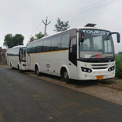 45 Seater AC Bus For Hire (mikeblackhat) Tags: 45 seater bus rent delhi