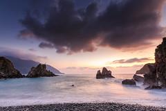 洗刷刷 (湯小米) Tags: coast coastline ilan taiwan beach rock sea sunrise 粉鳥林