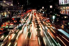 Ratchadamri Road (explore) (Thanathip Moolvong) Tags: nikon fe 50mm f14 fujichrome velvia 100 reversal film bangkok ratchadamri