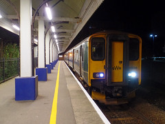 150239 Falmouth Docks (3) (Marky7890) Tags: gwr 150239 class150 sprinter 2t91 falmouthdocks railway cornwall maritimeline train