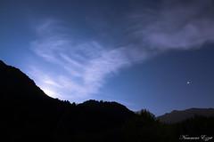 Lever de lune sur la montagne (Ezzo33) Tags: nammour ezzat ezzo33 france aquitaine ciel paysage sony rx10m3 pyrénéesatlantiques laruns nocturne nuit