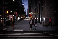 Bokeh (Nun Nicer Artist) Tags: manhattan bokeh travel city newyork nightphotography 35mm night nunnicer walking people street 35mmstreetphotography lights view streetphotography