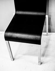 BlackChair.jpg (Klaus Ressmann) Tags: klaus ressmann centrepompidou fparis france omdem1 vasarelyexhibition winter blackandwhite chair contrast design flicvarious klausressmann