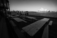 Decks By the Docks (Leighton Wallis) Tags: sony sydney 55mm nsw newsouthwales alpha f18 mirrorless a7r emount ilce7r ferry australia circularquay tourists busker sydneyoperahouse