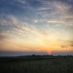 start (Jos Mecklenfeld) Tags: zonsopgang sonnenaufgang sunrise landschap landschaft landscape start