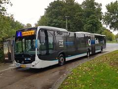 NLD Qbuzz 3424 - 3 ● Ruischerbrug (Roderik-D) Tags: qbuzz34203447 ruischerbrug 83bdl4 qlinkblauw qlinkblue articulatedbus 3424 qlink3 2013 424253 dieselbus euro6 mercedesbenz citaro3 o530g capacity441001 isri geledebus gelenkbus qlink ticketmachine lightsensor 3axle 3doors