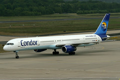 D-ABOJ 05.05.2007 @CGN (SPOTTER.KOELN) Tags: cgn eddk köln koeln cologne spotter planespotter spotting plane flugzeug airplane condor de boeing b757 757300