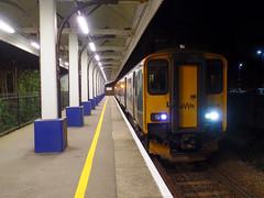 150239 Falmouth Docks (2) (Marky7890) Tags: gwr 150239 class150 sprinter 2t91 falmouthdocks railway cornwall maritimeline train