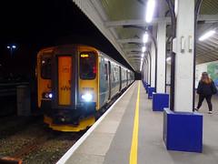 150239 Falmouth Docks (1) (Marky7890) Tags: gwr 150239 class150 sprinter 2f91 falmouthdocks railway cornwall maritimeline train