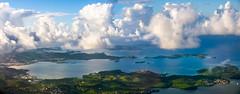 Martinique Baie du Robert (muscapix) Tags: aerialview vueaérienne avion plane fly travel voyage martinique ciel sky antilles caraïbes rx10iii chancel iletchancel lerobert hublotdégueulace hublotponcer