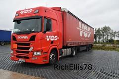 Add Watermark20191011042403 (richellis1978) Tags: truck lorry haulage transport logistics cannock freight scania r vos r450 ro romania cj24riw
