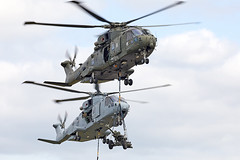 Merlin (Bernie Condon) Tags: westland merlin helicopter rn navy royalnavy military rm commando assault attack transport royalmarines chf commandohelicopterforce yeovilton airday rnas hmsheron airshow display aircraft plane flying aviation uk