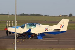 ZM311 (IndiaEcho) Tags: egye raf barkston heath airport airfield military aircraft aeroplane aviation royal air force grob prefect 3 flight training squadron lincolnshire england canon eos 1000d zm311