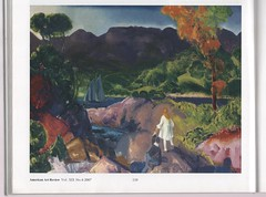 'Romance of Autumn', 1916, by George Bellows. (Phineas Redux) Tags: romanceofautumn1916bygeorgebellows georgebellowsartist americanart landscapepainting