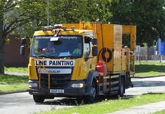 Pro-Line Surface Markings DE64 HJC At Chester (Joshhowells27) Tags: lorry truck daf lf daflf prolinesurfacemarkings wakefield de64hjc