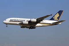 Singapore Airlines  Airbus A380-841 9V-SKH (M. Oertle) Tags: singaporeairlines airbus a380841 9vskh