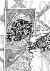 Petulant Sunrise (Moiret) Tags: art drawing chaos punk freehand improvised improvisation rock rebellion sunrise petulant anger rage raging