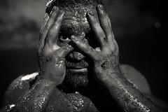 India, traditional mud wrestler (Dietmar Temps) Tags: akhada akhara asia athlets body culture dangal dumbbell fight gada india jori pune kushti mudwrestling chinchechitalim muscles pehlwan pehlwani southasia tradition traditional vyayam wrestler wrestling