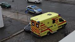 Unfall-00353 (pischty.hufnagel) Tags: dresden johannstadt unfall fahrrad krankenwagen polizei bmw