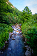 A river somewhere in europe (dannygreyton) Tags: stream river mountains mountain longexposure longexposureshot europe france fujifilmxt2 fujifilm fujifilmxseries