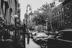 Eyes closed (Nun Nicer Artist) Tags: monochrome bnw 35mm newyork nunnicer travel streetphotography blackandwhite manhattan 35mmstreetphotography city citylife