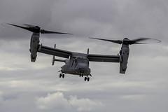 MV-22 Osprey 07 (dcnelson1898) Tags: 2019mcasmiramarairshow marinecorpsairstationmiramar unitedstatesmarinecorps marinecorps sandiego california marines aviation airshow airplanes aerobatics fight mv22osprey uglyangels vmm362 tiltrotor transport vstol