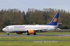 B737 MAX8 TF-ICN ICELANDAIR (shanairpic) Tags: jetairliner passengerjet b737 boeing737 max8 shannon icelandair tficn
