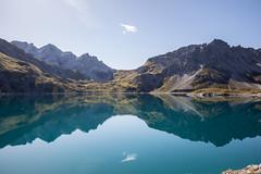 lünersee [II] (dadiolli) Tags: reflection hiking alps österreich austria rätikon lünersee