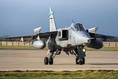 SEPECAT Jaguar GR3A XX112/EA (MichaelHind) Tags: sepecat jaguar gr3a xx112ea xx112 royal air force 6 sqn raf coningsby nov 2006 royalairforce rafconingsby aviation
