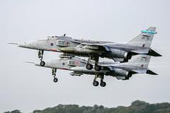 SEPECAT Jaguar GR3A XX752/EK (MichaelHind) Tags: sepecat jaguar gr3a xx752ea xx752 royal air force 6 sqn raf coningsby nov 2006 aviation royalairforce rafconingsby