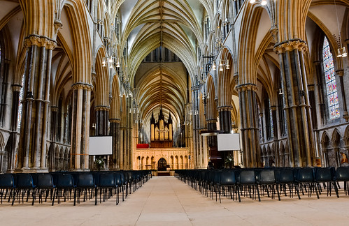 Lincoln Cathedral, nave