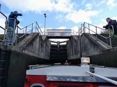 Boat trip on Falkirk Wheel (Paul Emma) Tags: scotland falkirk falkirkwheel canal unioncanal seagulltrust boat canalboat