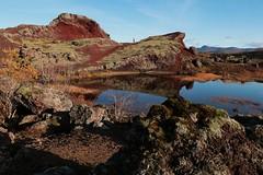 Rauðhólar Red Hills (ragnaolof) Tags: rauðhólar heiðmörk reykjavík iceland redhills ore lava