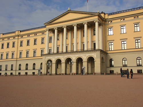 Oslo's Royal Palace, designed by H D F Linstow, 1849