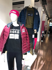 Lausanne 2020 - Store openeing (Lausanne 2020) Tags: joj jeuxolympiques jeuxdelajeunesse lausanne2020 lausanne olympicgames olympics wintergames yog youtholympic youtholympics magasin ouverturemagasin storeopening store