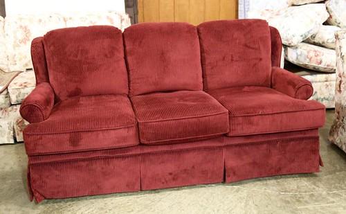 Flexsteel Maroon Sofa ($100.80)