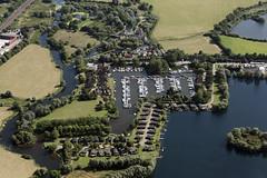 Photo of Buckden Marina in Cambridgeshire - aerial image