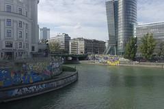 Vienna (Wien) - DonauKanal - 1 (fred.weg) Tags: vienna wien austria donaukanal kanal donau danube quay