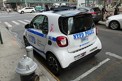 NYPD 5 PCT 2661 (Emergency_Vehicles) Tags: 2661 nypd new york police department 5pct smart car china town nyc