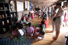 Distributing gifts to Iban tribe (Jim Nicholson) Tags: borneo malaysia my sarawak nikon d850 nikond850 nikkor2470mmf28