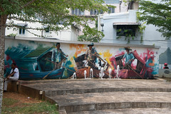 Mural in Kuching (Jim Nicholson) Tags: kuching malaysia my borneo mural sarawak nikon d850 nikond850 nikkor2470mmf28