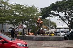 Cat Sculpture in Kuching (Jim Nicholson) Tags: kuching malaysia my borneo sculpture sarawak nikon d850 nikond850 nikkor2470mmf28