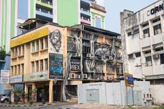 Orangutan Mural (Jim Nicholson) Tags: kuching malaysia my borneo mural sarawak nikon d850 nikond850 nikkor2470mmf28