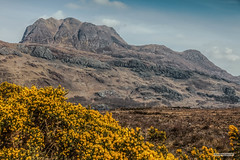 "The Munro,""Slioch,"" from Allt Odhar, on the south shore of Loch Maree. (Scotland by NJC.) Tags: mountains hills highlands peaks fells massif pinnacle ben munro heights جَبَلٌ montanha 山 planina montagne βουνό montagna fjell landscape scenery countryside scene setting background panorama view topography geography terrain environment مَنْظَرٌ طَبِيعِيٌّ paisagem krajolik krajina landskab landschap paisaje maisema paysage landschaft τοπίο paesaggio pristine unspoiled untouched primeval immaculate perfect faultless spotless pure imaculado 崭新的 prístino parfait makellos immacolato ピカピカの 아주 깨끗한 slioch lochmaree bridgeofgrudie kinlochewe westerross scotland"