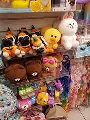 LINE Characters at the Mall (neshachan) Tags: charlestonwv charleston wv claires line mall plushies