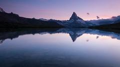 Matterhorn reflected in Stellisee