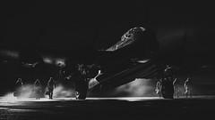 Men of Air (davepickettphotographer) Tags: justjane avro aircraft aviation uk lincolnshire england airfield bomber lancaster lincolnshireheritageaviationcentre wolds timeline event raf reenactment reenactors men crew bomberboys secondworldwar ww2 war museum airmuseum runway ghostofthepast