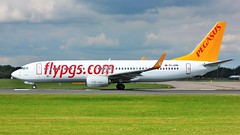 TC-CRE (AnDyMHoLdEn) Tags: pegasus 737 egcc airport manchester manchesterairport 23l