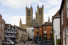 Lincoln Cathedral, England (Billy Wilson Photography) Tags: 2019 adventure biketour cycling europe lincoln cathedral church england united kingdom city town architecture old historical historic