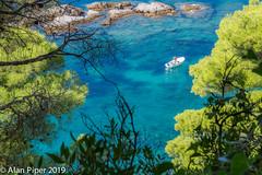 Solitude (PapaPiper) Tags: solitude beautiful croatia sea seascape blue green boat adriatic beauty turquoise tranquil calm water